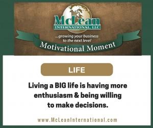 Motivational Moment – Life
