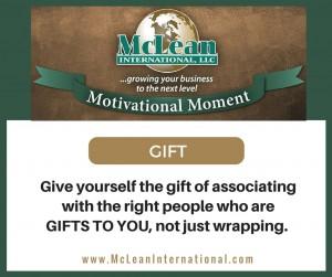 Motivational Moment – Gift