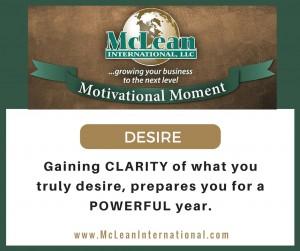 Motivational Moment – Desire