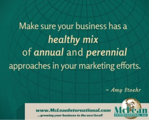 Ensure you have a Healthy Mix in your Marketing Efforts
