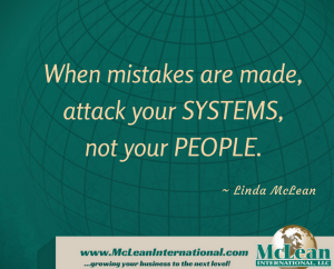 Systems versus people