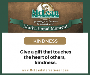 Motivational Moment – Kindness