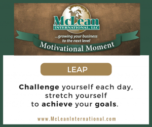 Motivational Moment – LEAP