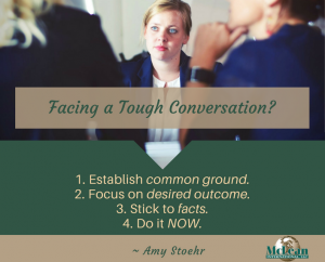 Leadership Tips for Having Tough Conversations