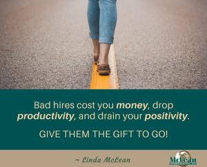 leadership tips for firing bad hires