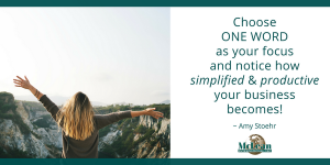 You Can Change Your Life with ONE WORD