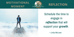 Motivational Moment – REFLECTION