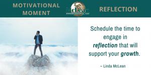 Motivational Moment – REFLECTION