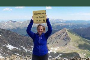 Go Fund Me Fundraiser to Help Amy Stoehr Reach The Summit