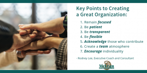 Create a great organization