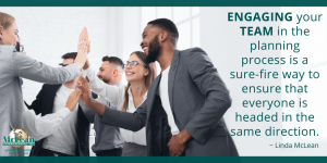 Engaging your team in business planning