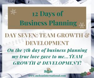 Team Growth & Development