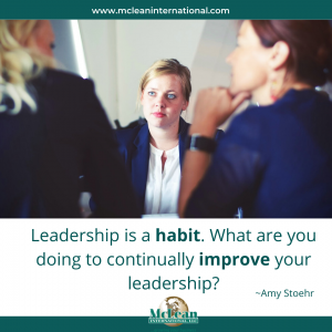 Leadership is a Habit