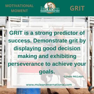 Grit predicts success