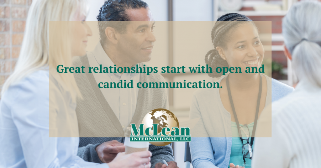 McLean International - The Path to Creating Great Relationships