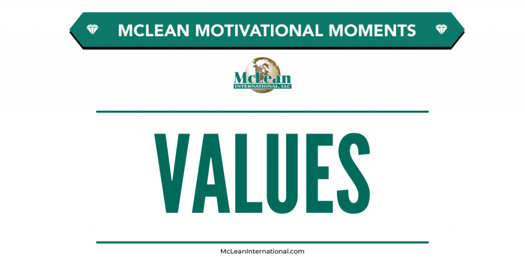 Motivational Moments - Values