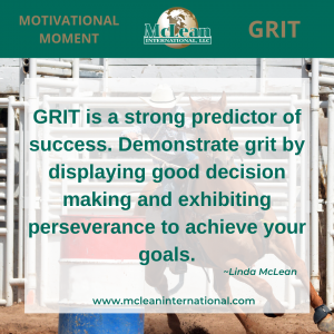 Grit predicts success