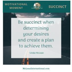 Succinct Desires