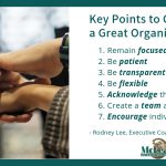 Create a great organization