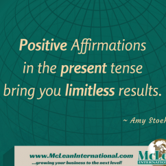how to set positive affirmations